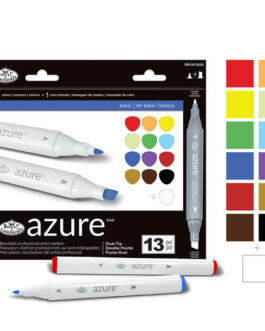 Markerite komplekt Azure 13tk