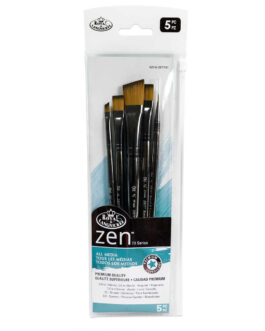 Pintsel komplekt Zen 5tk Lapikud ja Detalid