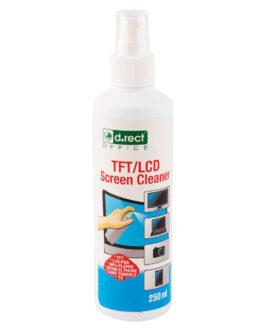 Ekraanipuhastus Spray D.Rect 250ml