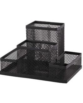 Lauagarnituur Metallvõre 4 osa must