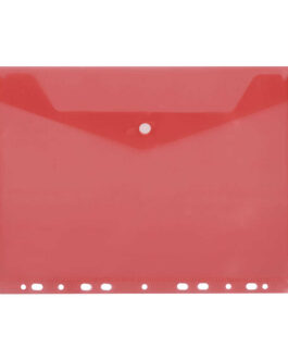 Kiletasku D.Rect 11-Holes Transparent Red