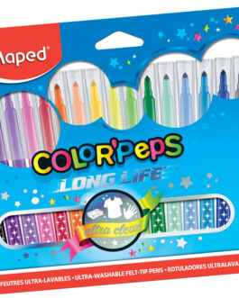 Viltpliiats Maped Color'Peps Long Life 18tk.