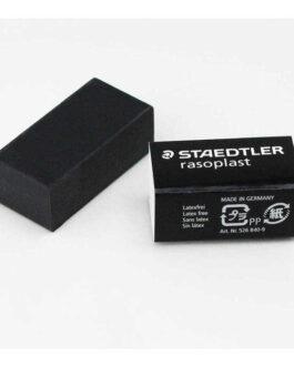 Kustukumm Staedler Rasoplast Must