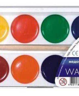 AKVARELLID 12 värvi, plastkarbis