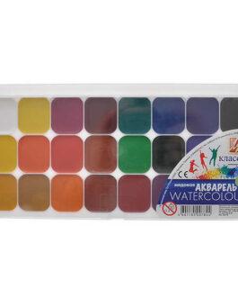 AKVARELLID 24 värvi, plastkarbis