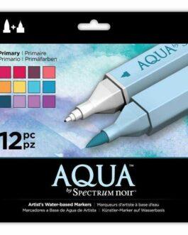 Marker Aqua By Spectrum Noir – Primary (12tk)