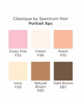 Marker Spectrum Noir Classique (6tk) – Portrait