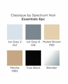 Marker Spectrum Noir Classique (6tk) – Essentials
