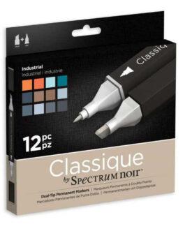 Marker Spectrum Noir Classique (12tk) – Industrial