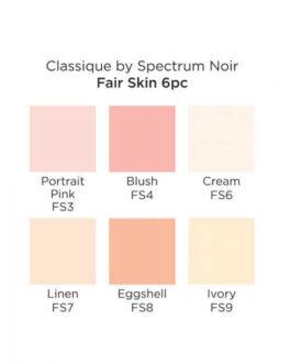 Marker Spectrum Noir Classique (6tk) – Fair Skin