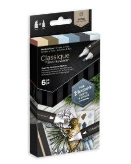 Marker Spectrum Noir Classique (6tk) – Shade & Tone