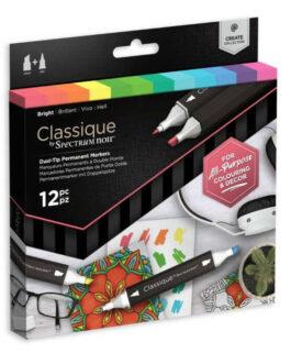 Marker Spectrum Noir Classique (12tk) – Bright