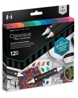 Marker Spectrum Noir Classique (12tk) – Jewel