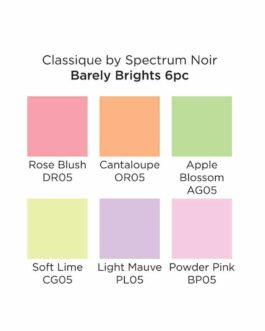 Marker Spectrum Noir Classique Hint Of Markers – Barely Brights