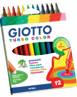 Viltpliiats Giotto Turbo Color 12 Värvi